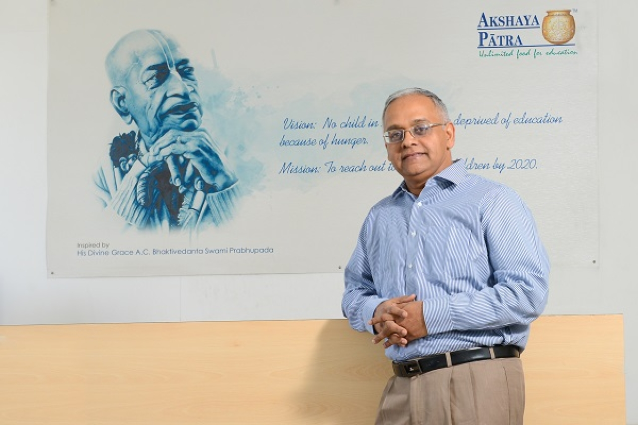 Shridhar Venkat, CEO, Akshaya Patra Foundation