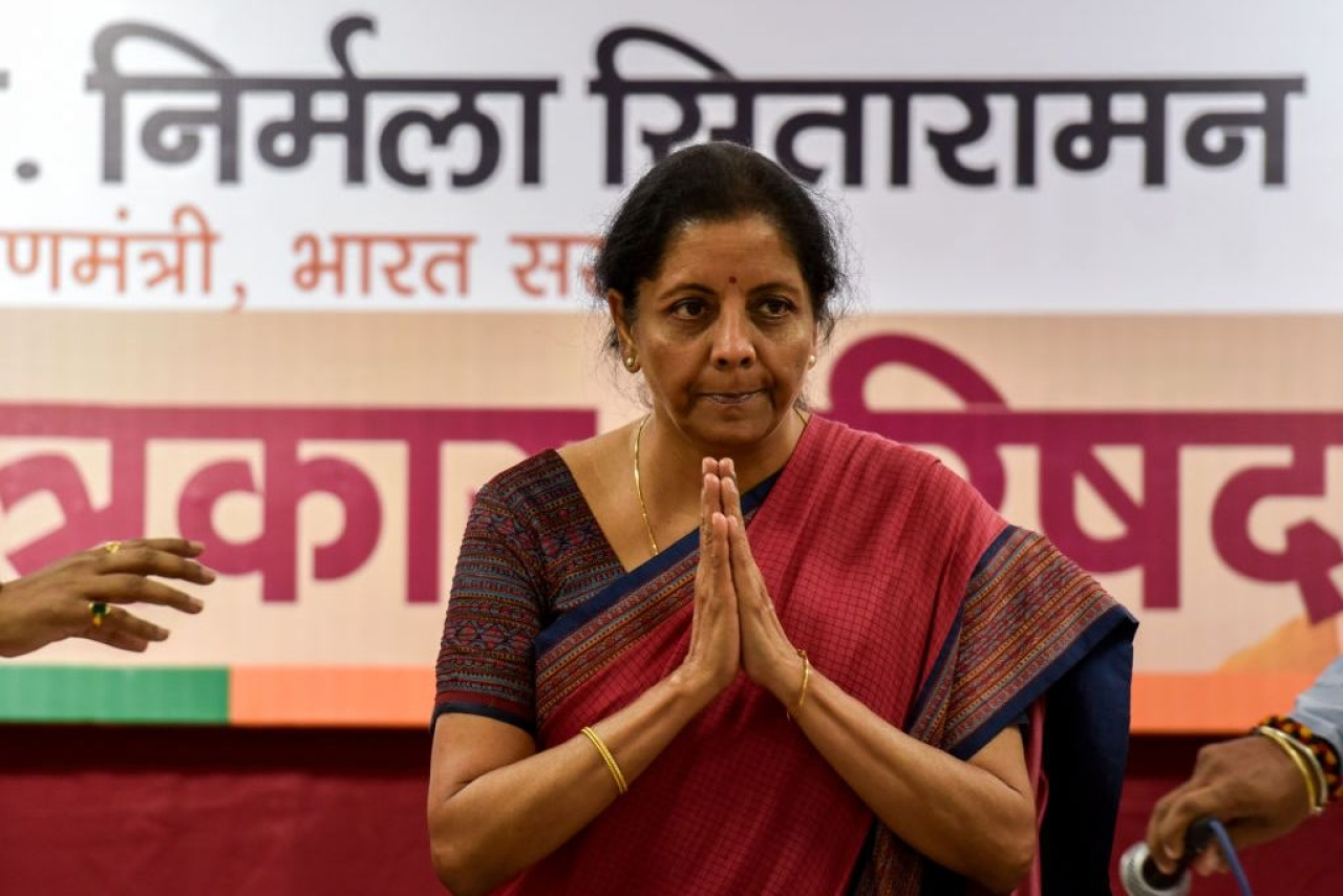 Finance Minister Nirmala Sitharaman (Kunal Patil/Hindustan Times via Getty Images)