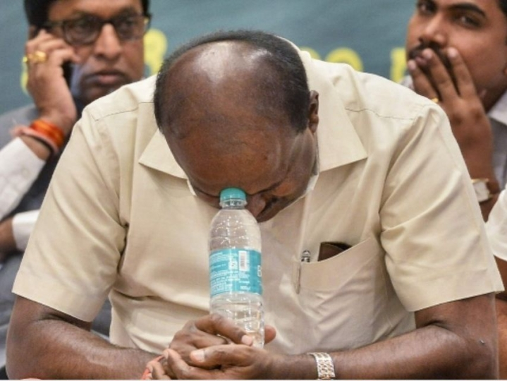 'Not Trying To Cling To Power' Says CM Kumaraswamy Ahead Of Likely Floor Test In Karnataka Assembly