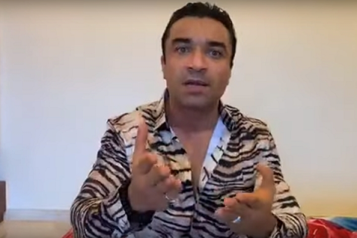 Watch: Actor Ajaz Khan Changes Tune After Release From Jail, Praises PM Modi, Amit Shah