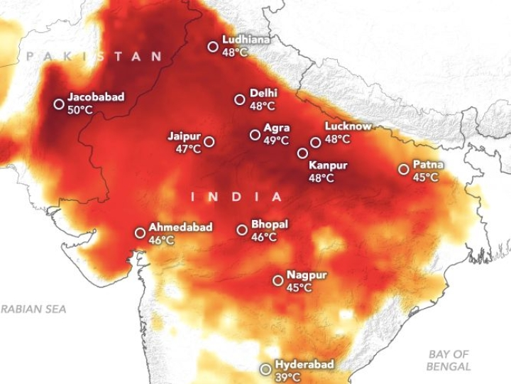 Climate Change: Hottest June Since 1880, Nine Out Of World's Ten Hottest Junes Occurred In Last Nine Years Says Report