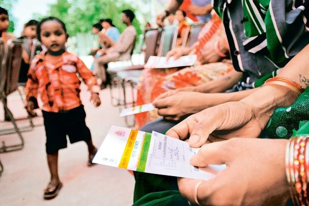 Aadhar card camp/Getty Images