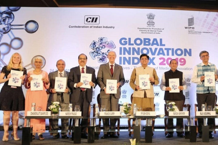 India Climbs Five Spots To Take 52nd Position In Global Innovation Index 2019 Rankings