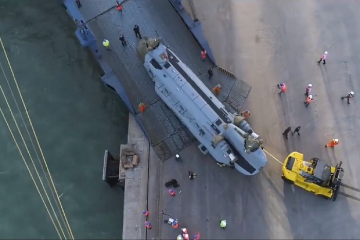 Watch: How US-Made Chinook Helicopters Are Arriving And Being Unpacked At Mundra Port