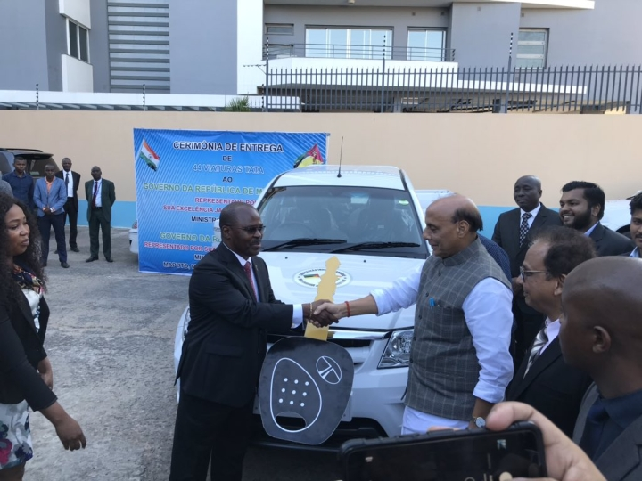 India Gifts 44 SUVs To Mozambique To Boost Safety And Security Apparatus Of The Mozambican Police Forces