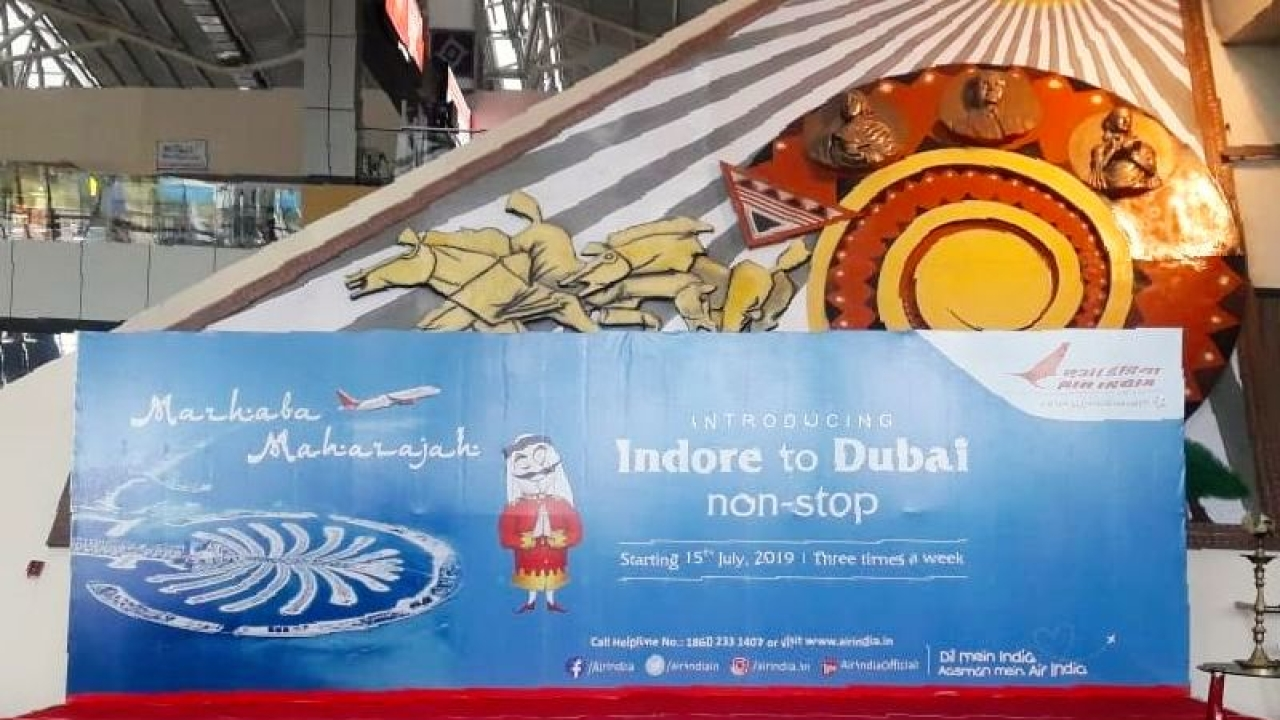 Maiden International Flight From Indore: Air India To Begin Operations To Dubai From MP's 'Economic Capital'