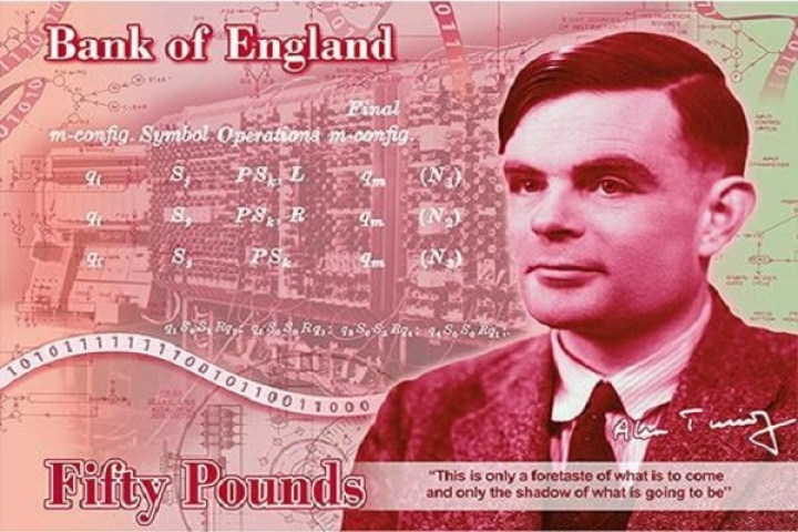 Once Hounded By British Authorities, Computer Pioneer Alan Turing To Now Appear On New 50 Pound Note