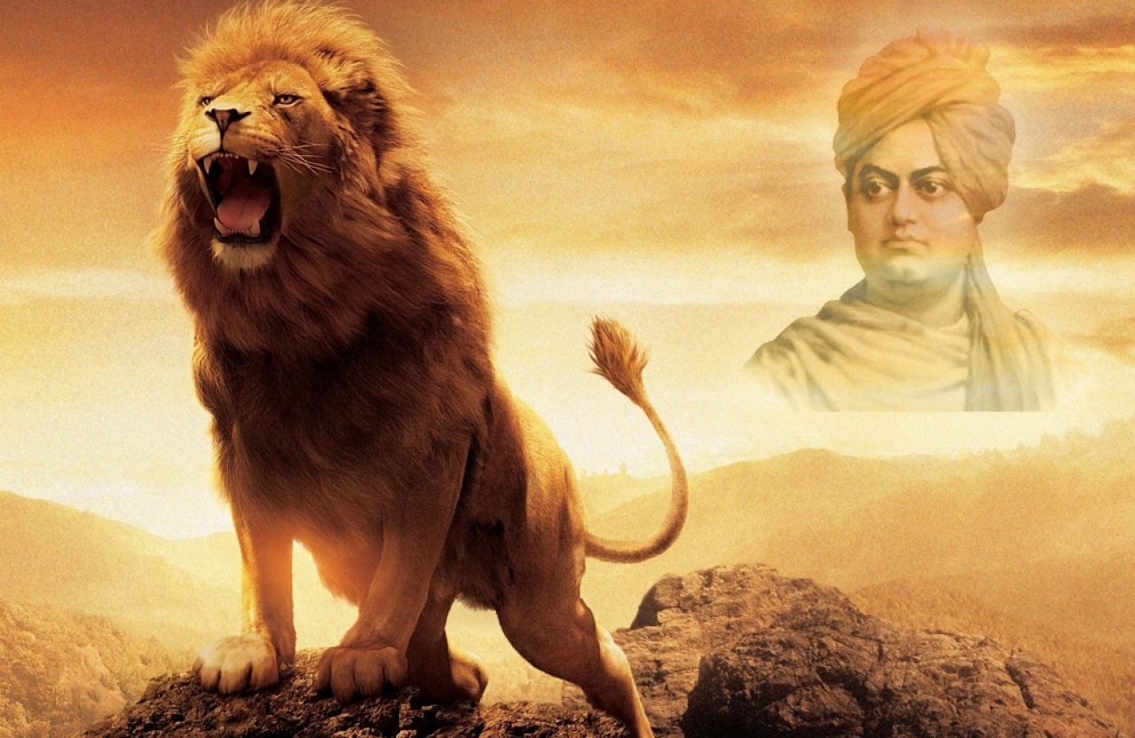 The core source of 'The Lion King' comes from the Lion of Vedanta — Swami Vivekananda.