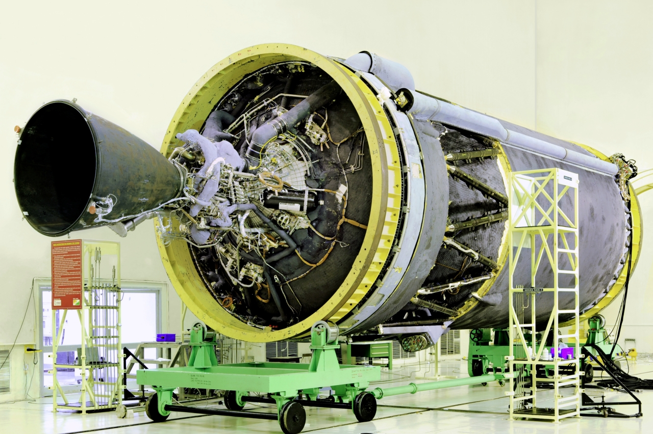 ISRO's C25 cryogenic stage with CE-20 engine. (ISRO)