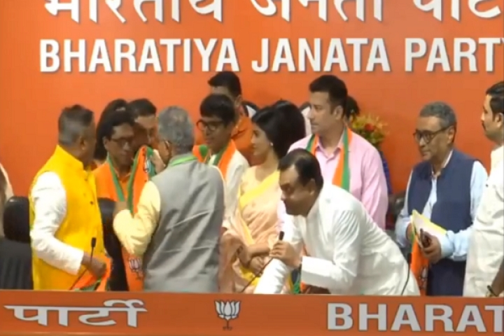 12 Bengali Film And Television Actors Join BJP At Party Headquarters In New Delhi