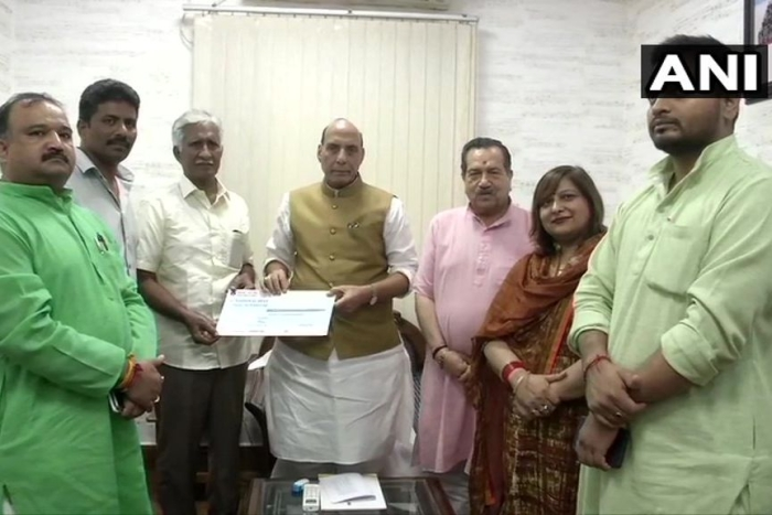 Inspired By Indian Sages, Former Airman Donates Almost Entire Life Savings Of Rs 1.08 Crore To MoD