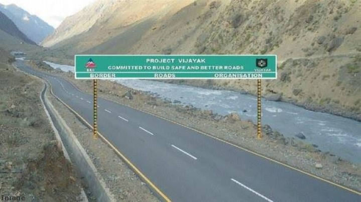 Construction Of Over 2,000 KM Strategic Road Infra Across LoC, China Border Completed By BRO
