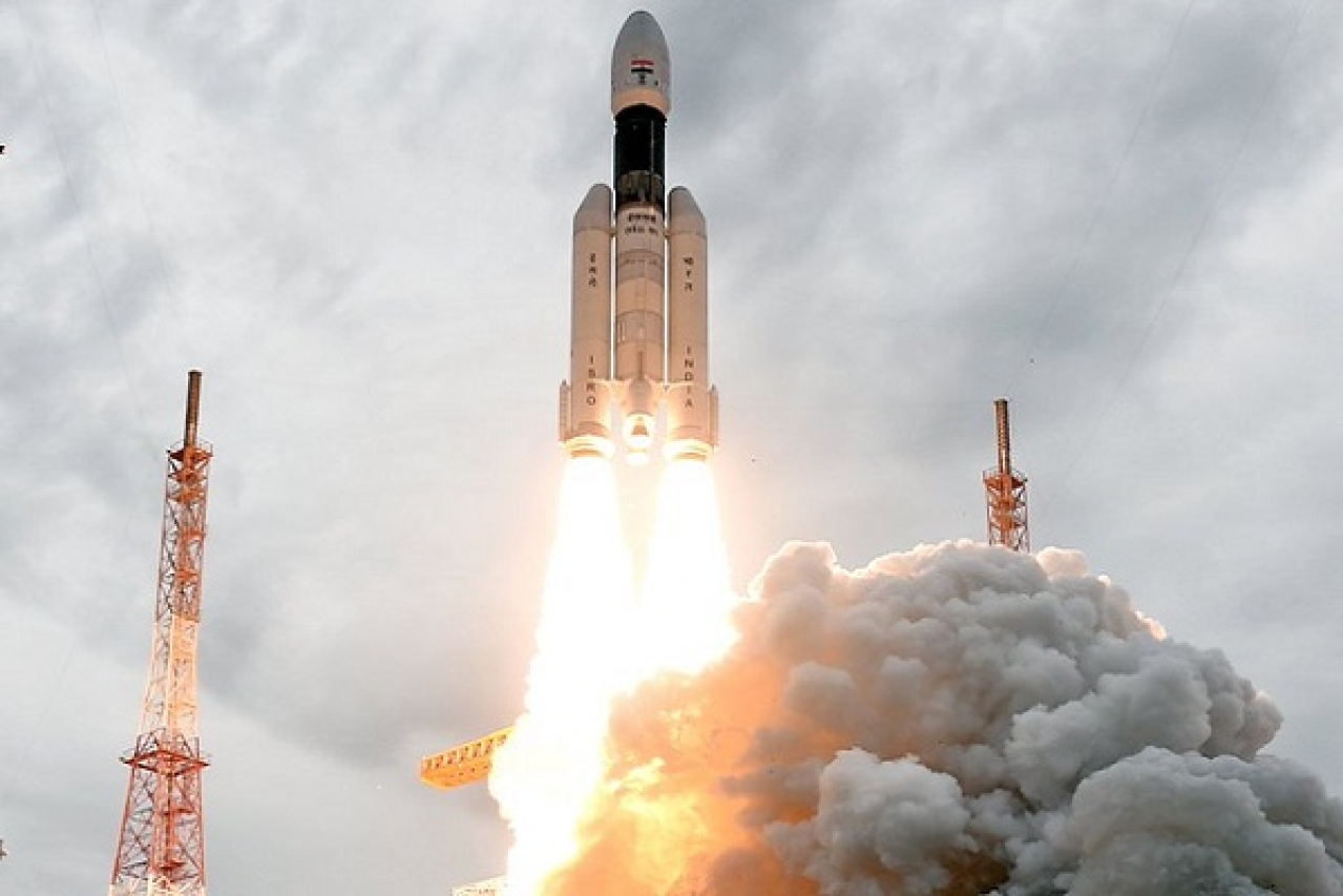In Pictures: ISRO Releases Spectacular Images Of Chandrayaan-2's GSLV Mark-III Rocket Soon After Liftoff