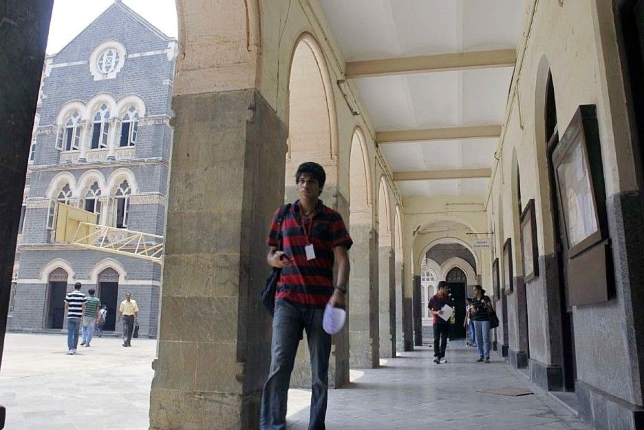 Higher education infrastructure in India. (Kalpak Pathak/Hindustan Times via Getty Images)