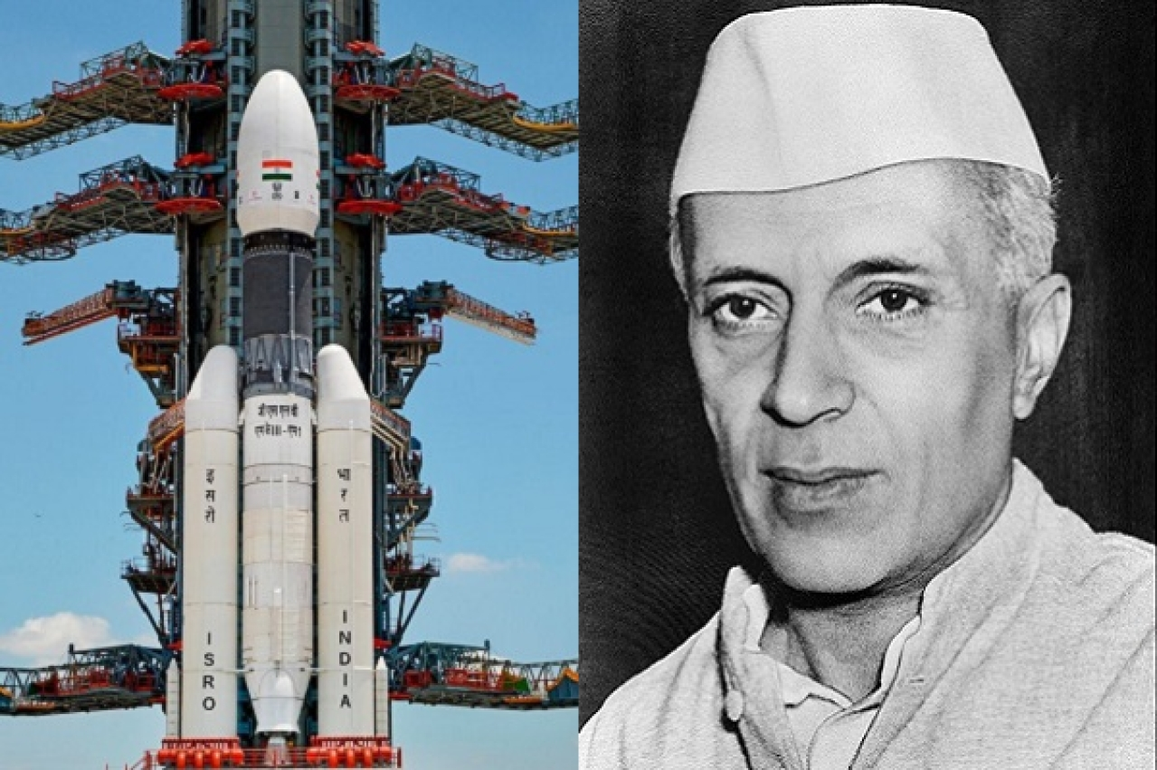 'Good Time To Remember Nehru': Congress Hails Former PM After Successful Chandrayaan-2 Launch