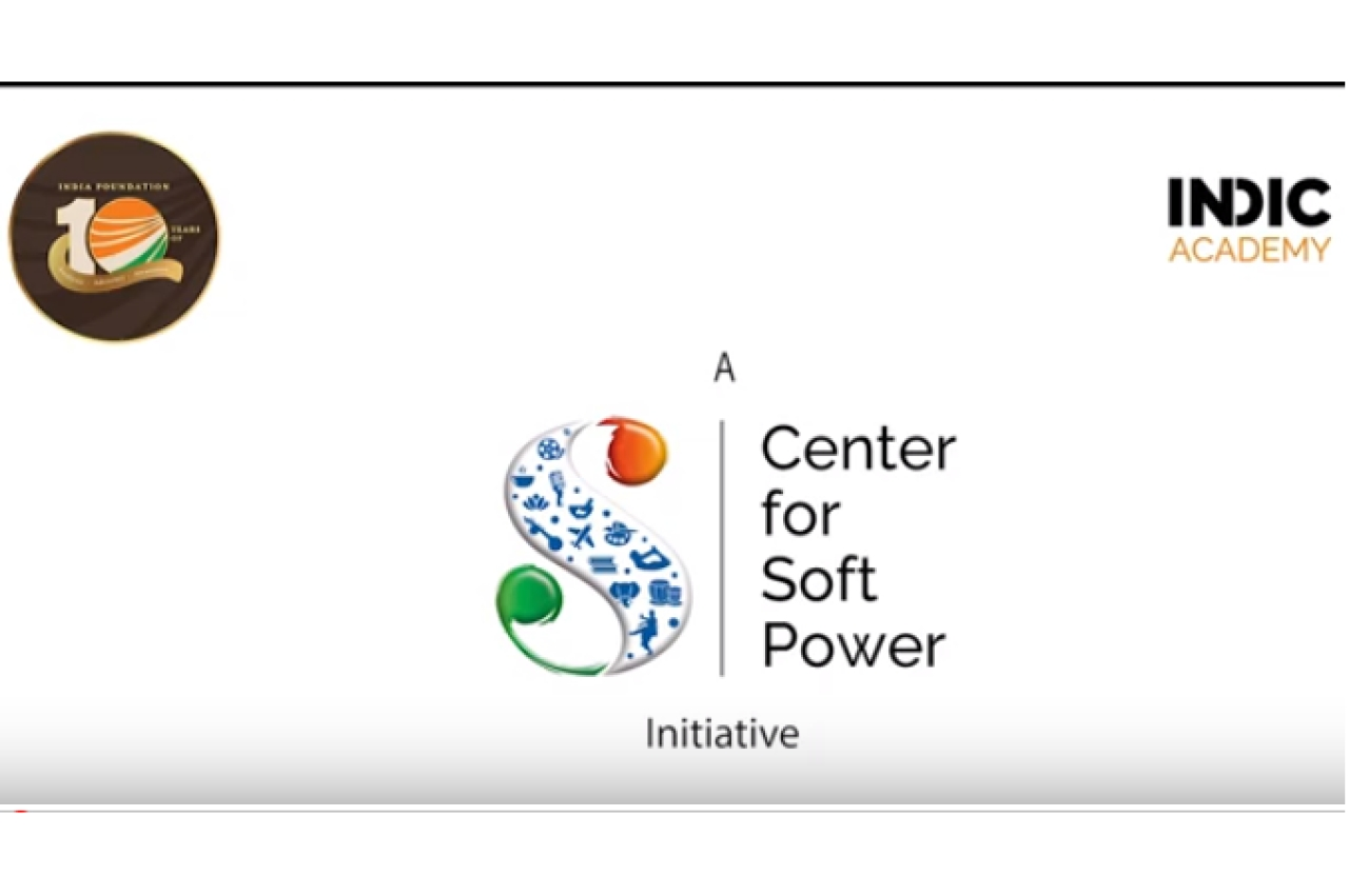 Indic Academy and the Centre for Soft Power Initiative (Source: Youtube)