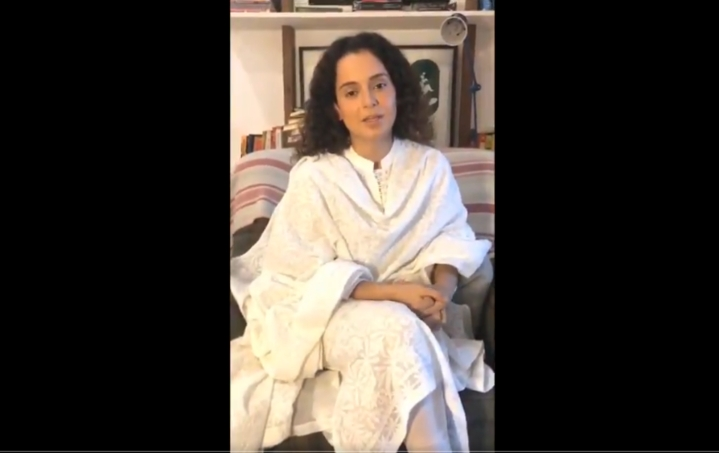 """Don't Want Anti-Nationals Making Money Off Of Me"": Kangana Ranaut Welcomes Ban By Editors' Guild In New Video"