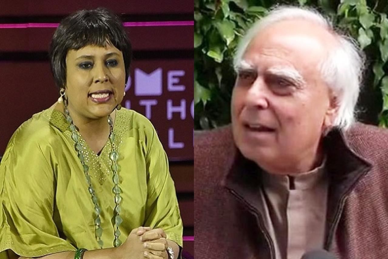 Image result for barkha dutt and kapil sibal