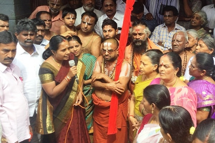 TN Cops Summon Srivilliputhur Seer For Calling To End Athi Varadar Immersion In Temple Tank As There's No 'Invasion' Threat