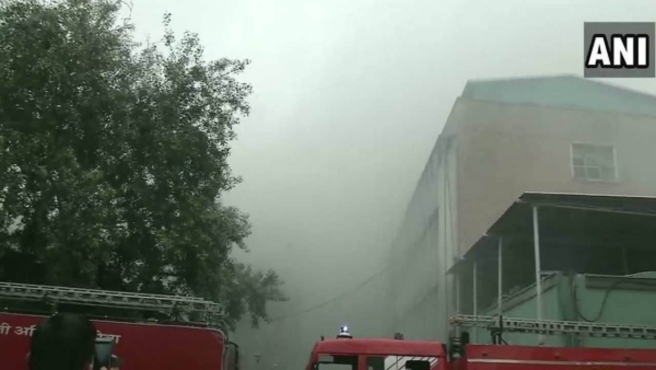 34 Fire Tenders Rush To Control As Fire Breaks Out At AIIMS Delhi, No Casualties Reported