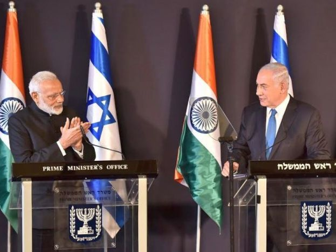 Israeli PM Netanyahu Presses on Construction Sector to Boost Indo-Israeli Ties