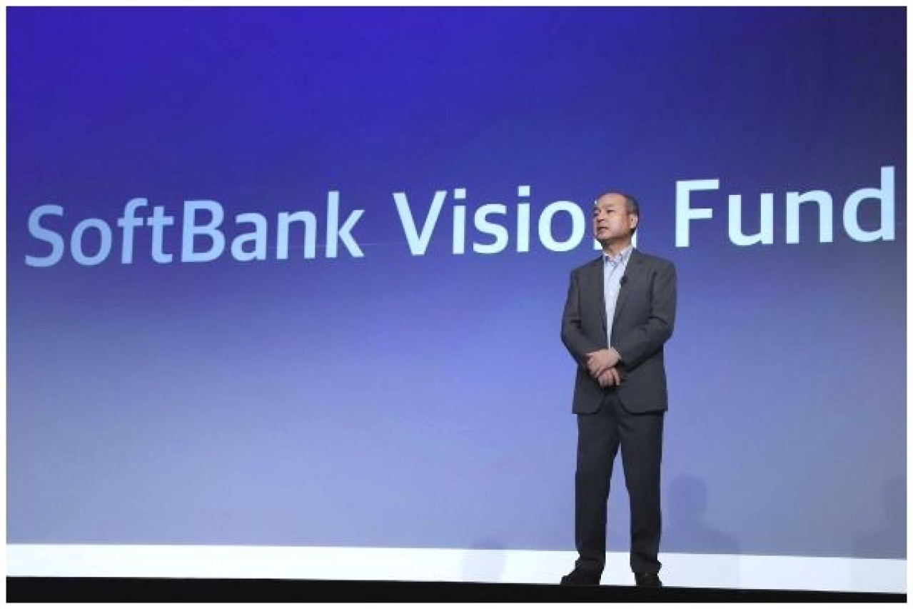 SoftBank Group CEO Masayoshi Son