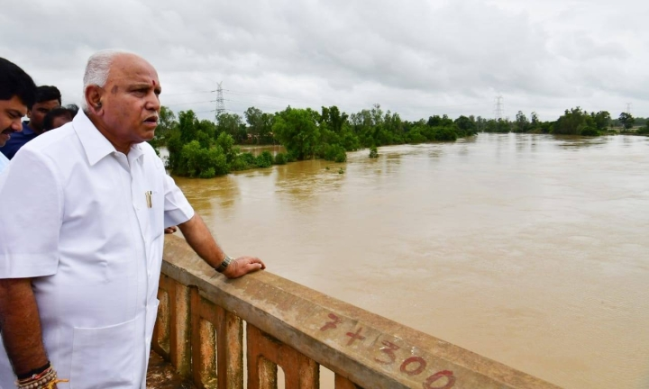One Man Government? How B S Yediyurappa Is Managing Flood Relief For An Entire State