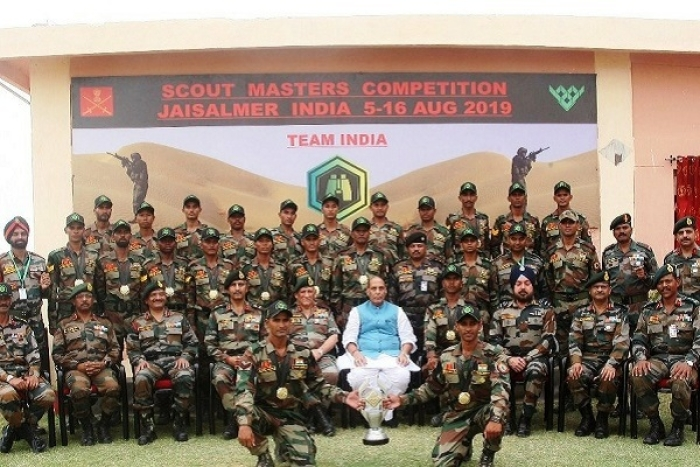 Indian Army Defeats China And Russia To Win International Scout Master Competition At Jaisalmer