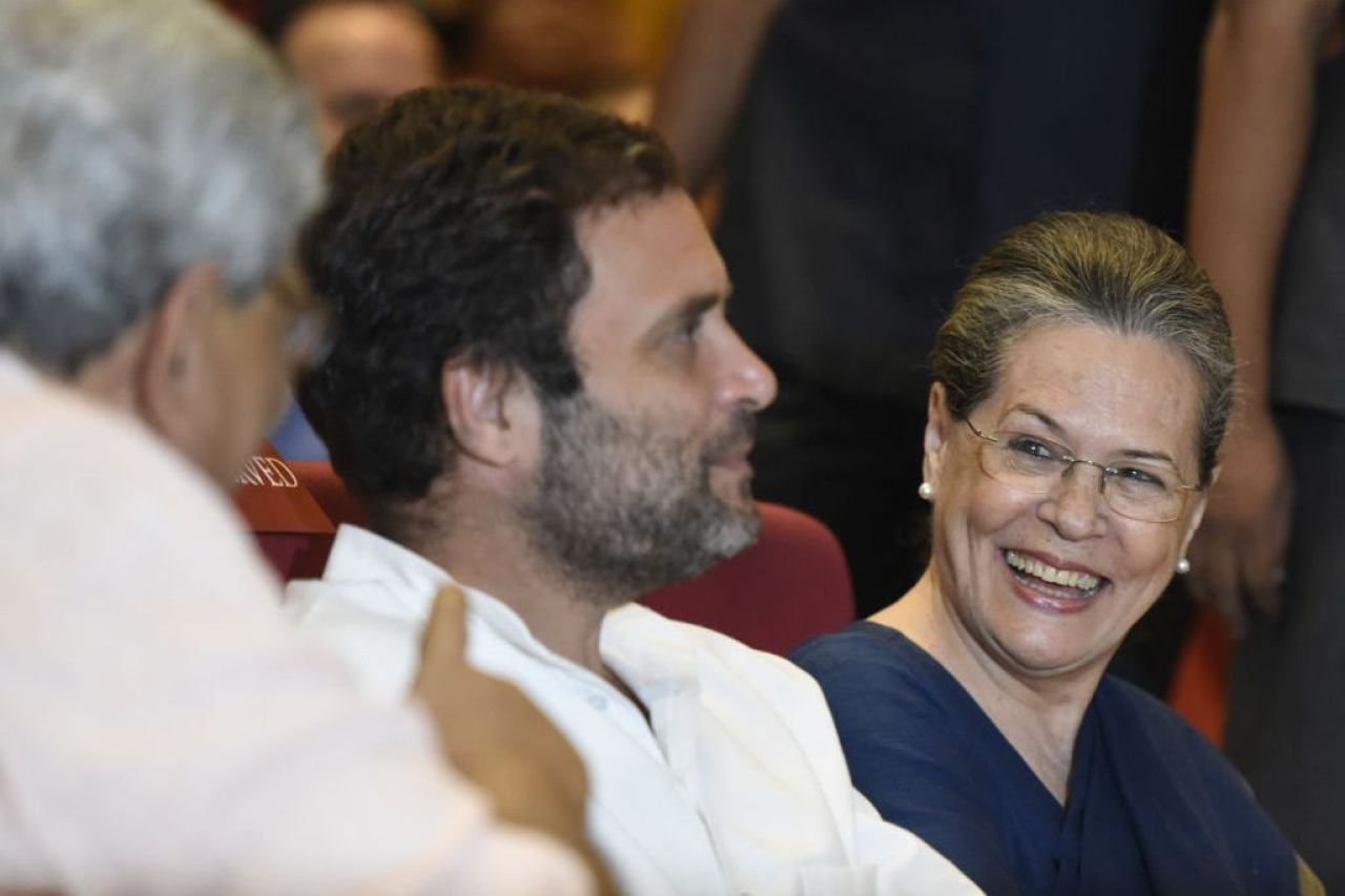 While India expected a 'nationalist' Congress, all it could offer is a Gandhi-Vadra soap opera (Sonu Mehta/Hindustan Times via Getty Images)