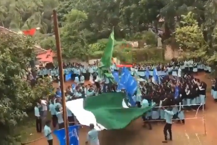 Kerala: FIR Registered Against 25 Students Of Kozhikode College For Allegedly Waving Pakistani Flag On Campus