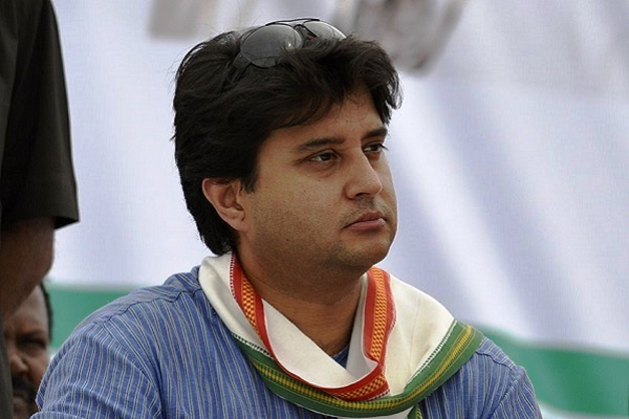 Congress Leader Jyotiraditya Scindia Removes Party Posts From His Twitter Bio