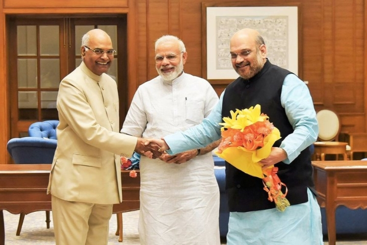 President Ram Nath Kovind Signs Order Abrogationg Article 370 and Applying Indian Constitution To J&K