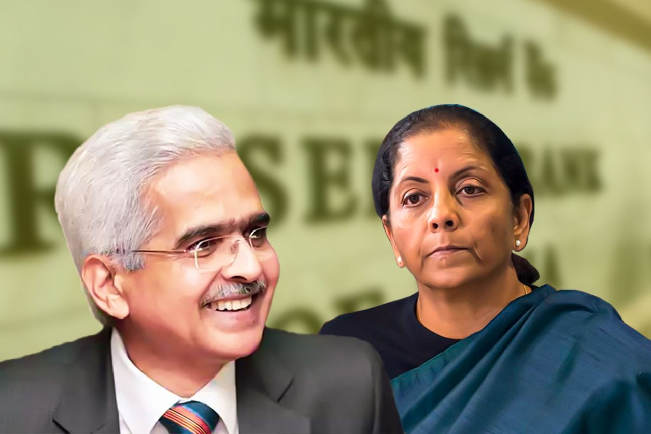 Finance Minister Nirmala Sitharaman and RBI Governor Shaktikanta Das.