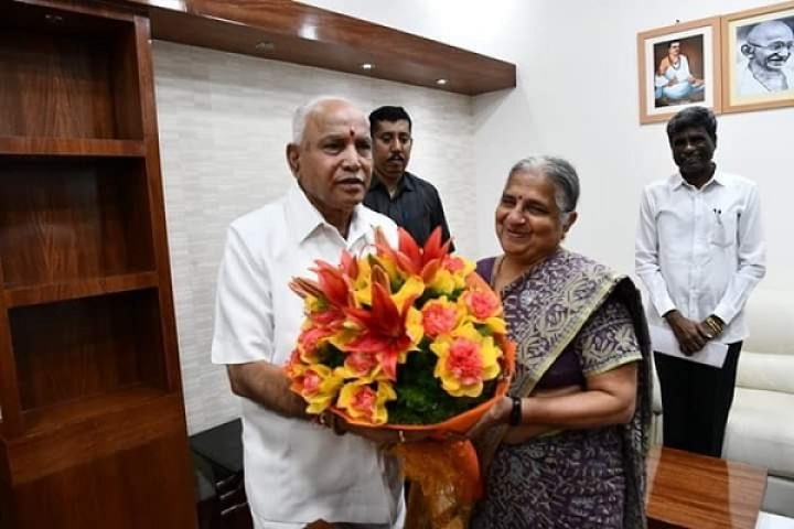 Big Push For Tourism: Karnataka CM Yediyurappa Constitutes Task Force With Infosys' Sudha Murty As Head