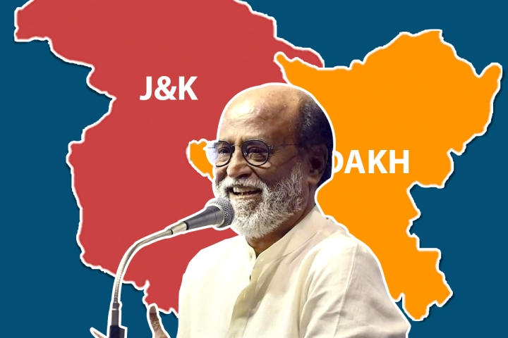 How Rajinikanth's Stand On Article 370 Has Put DMK And Congress On The Back Foot In Tamil Nadu