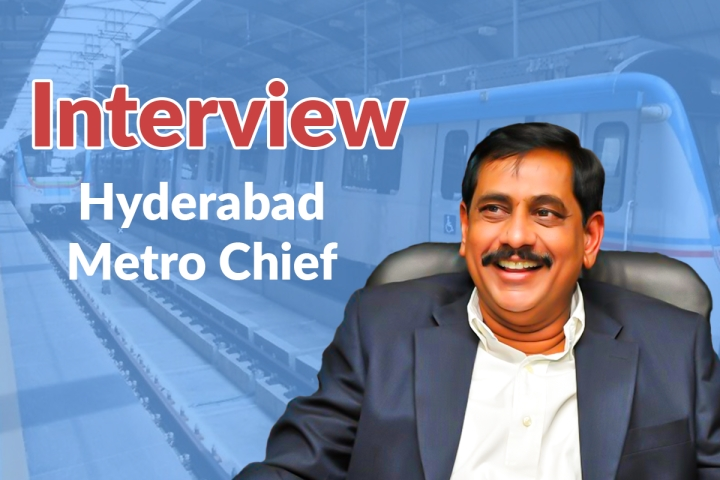 N V S Reddy: The Never-Say-Die Metro Chief Of Hyderabad