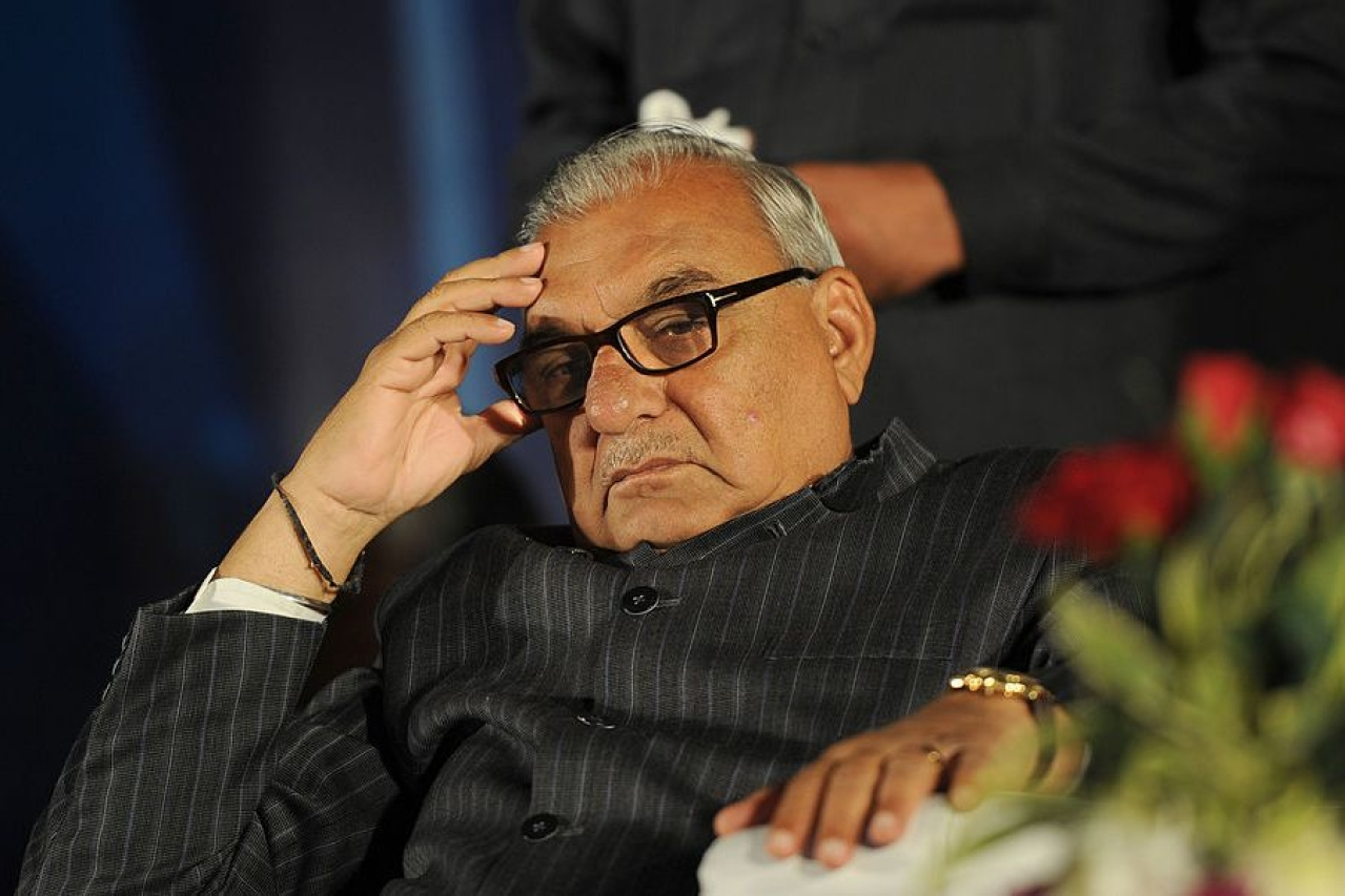 Former Haryana CM Bhupinder Singh Hooda AFP PHOTO/SAJJAD HUSSAIN (Photo credit should read SAJJAD HUSSAIN/AFP/Getty Images)