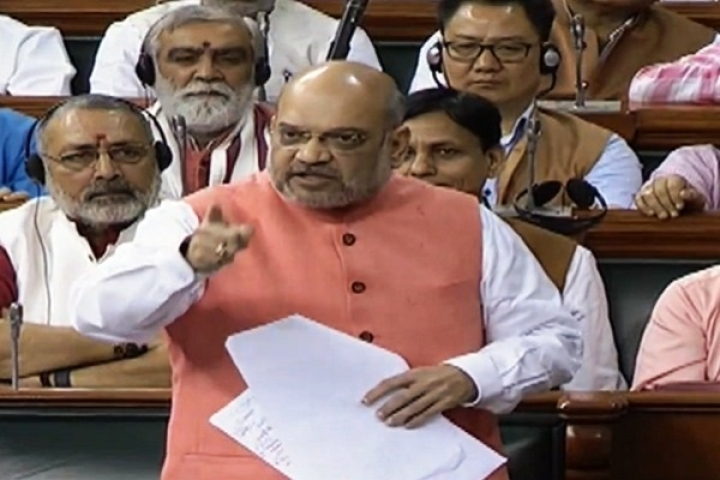 [Watch] 'PoK An Integral Part Of India, Ready To Give Our Lives For It': Amit Shah Slams Congress Leader In Lok Sabha