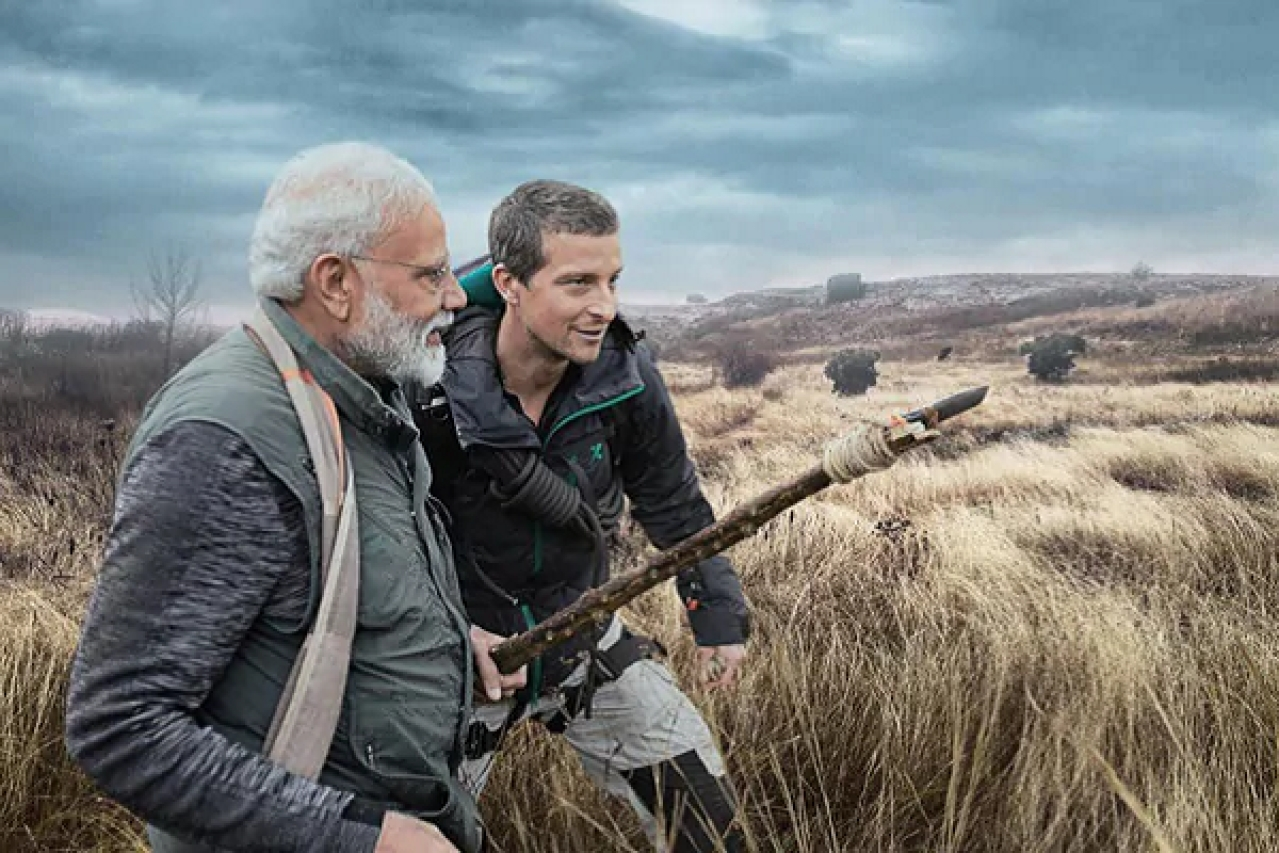 PM Modi's Man Vs Wild Episode Becomes World's Most Trending TV Event With 3.6 Billion Impressions