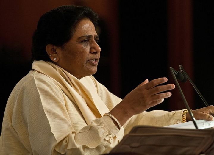 BSP Chief Mayawati Slams Congress Leaders For Playing Politics On Kashmir; Says Government Should Be Given Time
