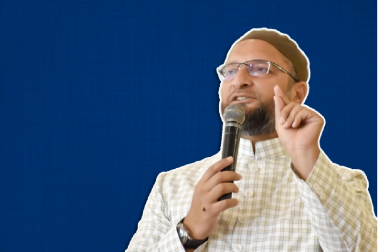 All India Majlis-e-Ittehadul Muslimeen chief Asaduddin Owaisi.