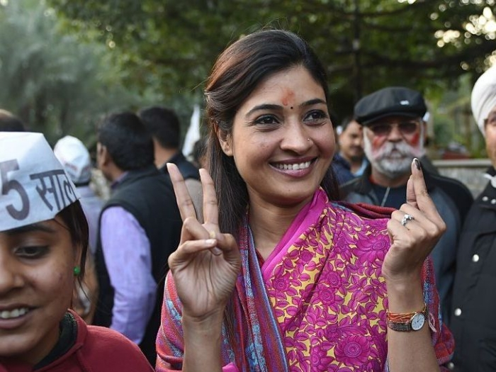 Former AAP Leader And MLA From Chandni Chowk Alka Lamba Disqualified From Delhi Assembly For Defection To Congress