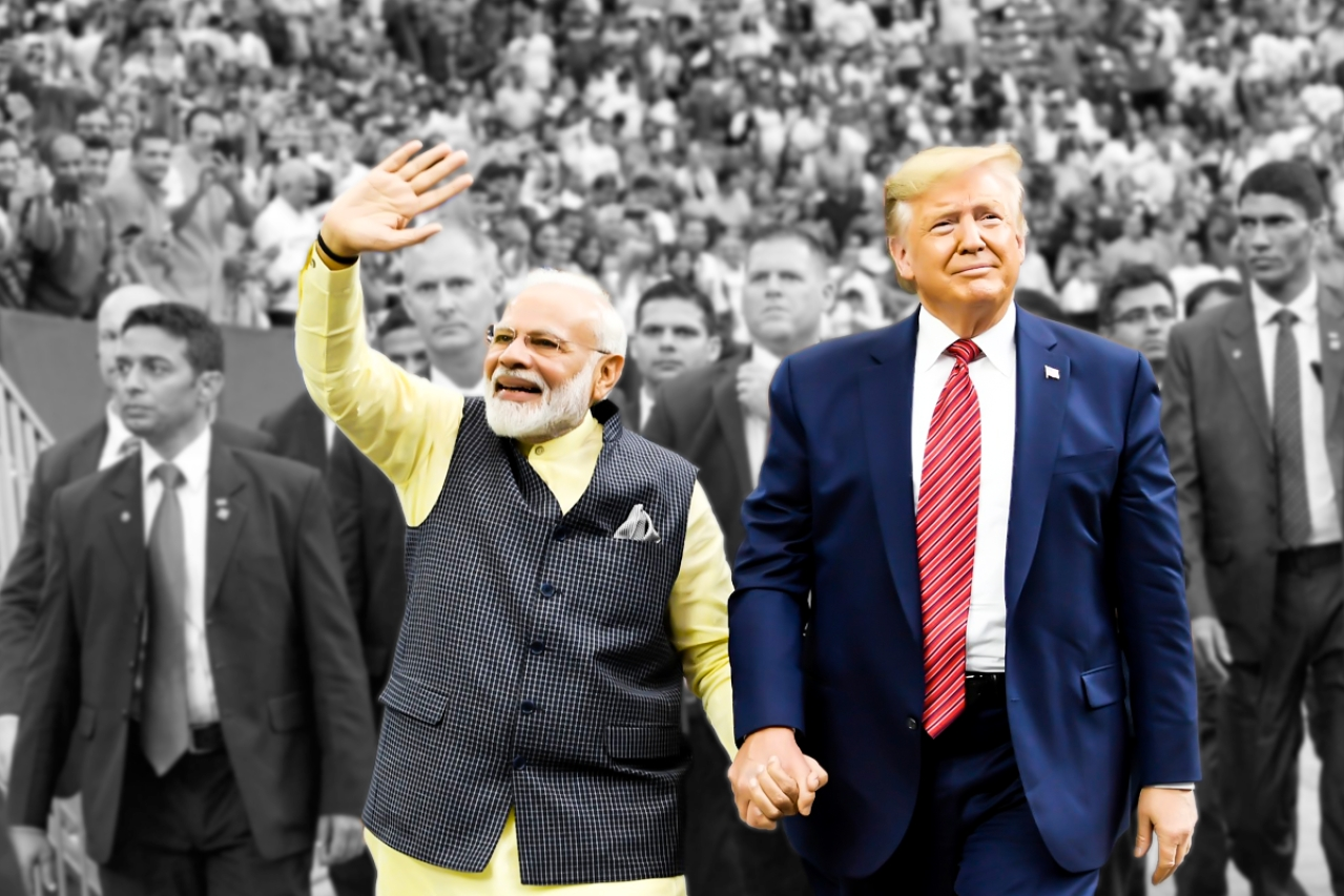 US President Donald Trump and Prime Minister Narendra Modi