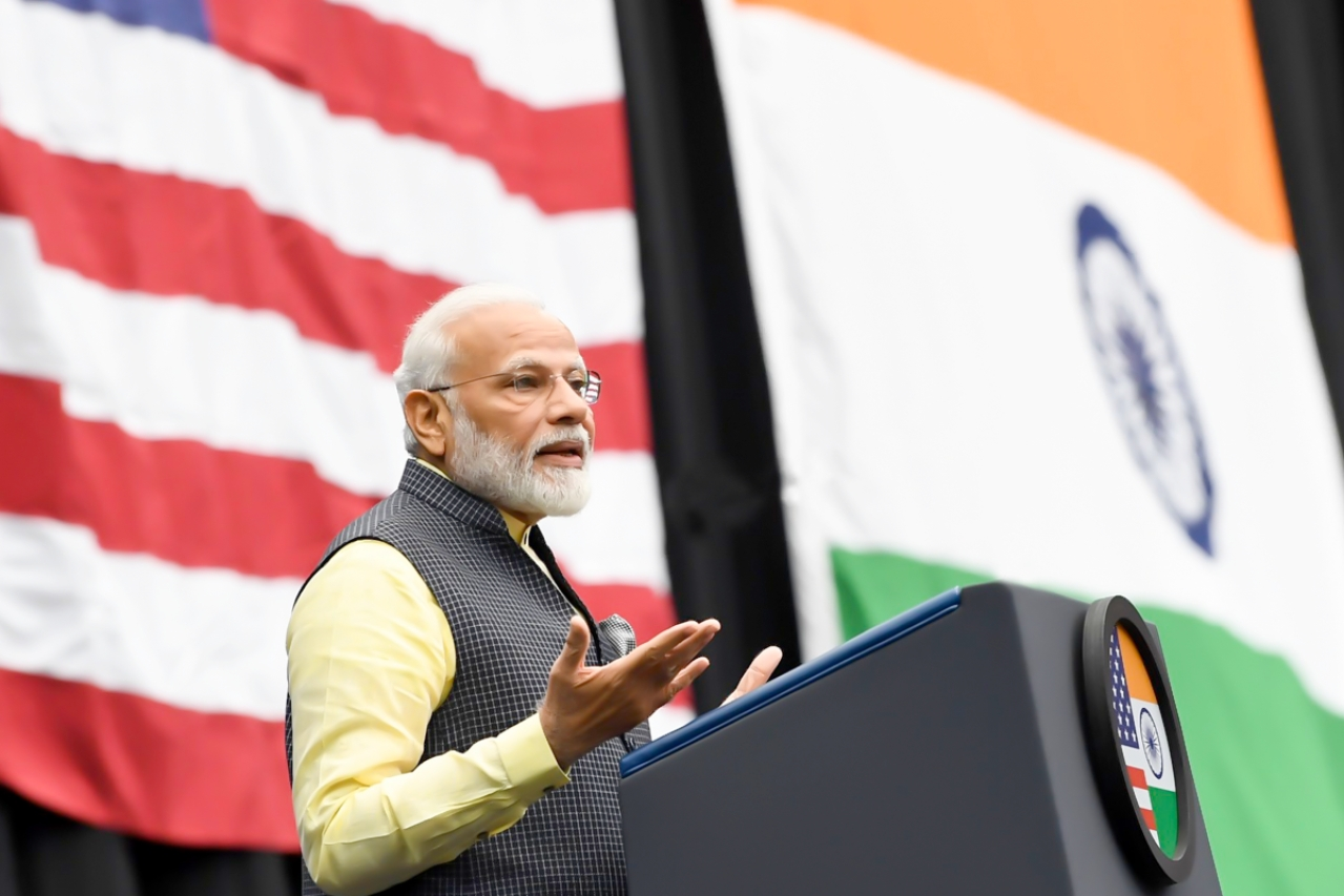Prime Minster Narendra Modi in Houston