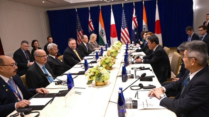 S Jaishankar Meets Representatives Of US, Australia And Japan In First Ministerial Level Quad Meeting In New York