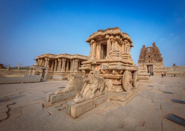 Another Act Of Vandalism In Hampi: Bengaluru Tourist Arrested For Damaging Pillars Near Vijaya Vitthala Temple Site