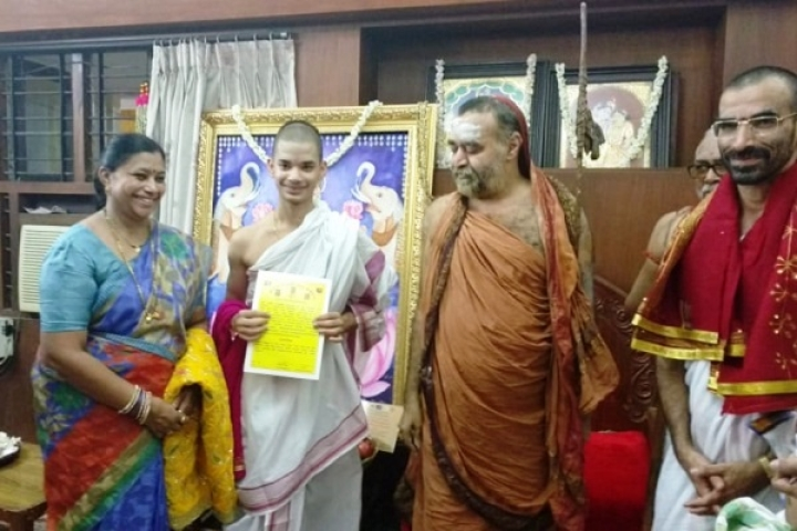 PM Modi Congratulates 16-Year-Old Priyavrata - The Youngest Ever To Pass 'Tenali Pariksha' Of Shastras