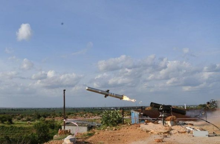 DRDO's Third-Gen Anti-Tank Missile Flight Tested Successfully, Here's How It Will Pierce Strongest Of Enemy's Vehicles