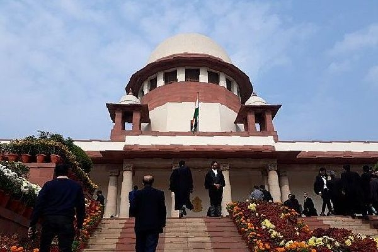 The Supreme Court of India. (Wikimedia Commons)