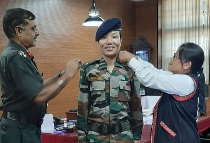 Ponung Doming Becomes Indian Army's First Woman Lieutenant Colonel From Arunachal Pradesh